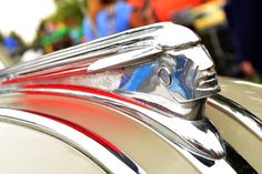1947 Pontiac hood ornament. © Richard J Bauman