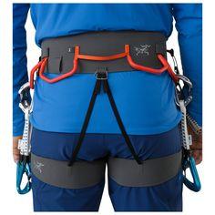 Résultats de recherche d'images pour «harnais arcteryx» Leg Harness, Ice Climbing, Adjustable Legs, Drawstring Backpack, Trunks, Swimming, Sports, Swimwear, Bags