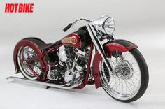 PanDejo - A Custom 2008 Harley-Davidson Panhead Softail | Hot Bike
