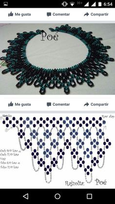 Fantastic Pictures Beadwork necklace Thoughts Bond stress can certainly create enormous have an effect on the way your jewellery looks. No-one wishes to sp Diy Necklace Patterns, Beaded Jewelry Patterns, Beading Patterns, Necklace Designs, Seed Bead Bracelets, Seed Bead Jewelry, Bead Jewellery, Seed Beads, Beaded Necklaces