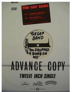 At £6.98  http://www.ebay.co.uk/itm/Gap-Band-You-Dropped-Bomb-Me-Advance-Copy-Mercury-Records-MERX-114-/251160316917