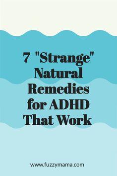 Parenting Advice, Kids And Parenting, Natural Treatments, Natural Remedies, Types Of Adhd, Adhd Help, Adhd Diet, Adhd Brain, Adhd