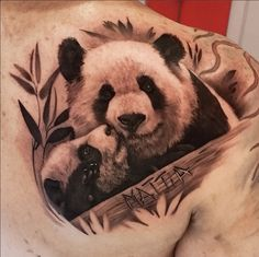 I need this on my body! I love pandas!