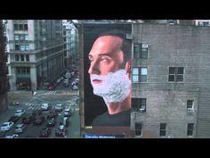 El afeitado más grande del mundo. de BBDO para Gillette