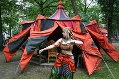 Image result for gypsy tent