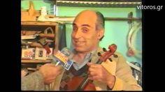Μανόλης Πετρουγάκης, Ο μοναδικός καλλιτέχνης κατασκευαστής βιολιών