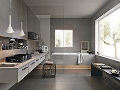 Concreta Range From Marazzi - @MaterialPlans Wall & Floor Tiles, Bathroom, Interior Design