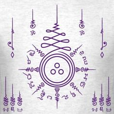 Triratna Aum – Grey and Purple (Men)