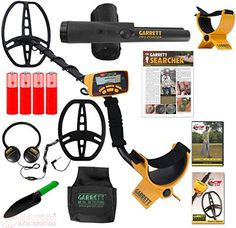 Special Offers - Garrett Ace 350 Metal Detector Ultimate Treasure Hunter Package W/Free Headphones & DVD - In stock & Free Shipping. You can save more money! Check It (September 22 2016 at 11:25PM) >> http://chainsawusa.net/garrett-ace-350-metal-detector-ultimate-treasure-hunter-package-wfree-headphones-dvd/