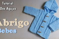 tutorial crochet – Paso a Paso Crochet Baby Cardigan Knitting Pattern, Crochet Jacket, Crochet Cardigan, All Free Crochet, Diy Crochet, Crochet Baby, Tutorial Crochet, Knitting For Kids, Baby Knitting