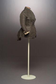 Woman's jacket. 1880 [ca]