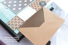 Фотоальбомы блокноты ручной работы: Винтажный альбом для малыша в кожаной обложке.