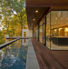 Glen Echo House Design, Pool