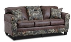 Duck Commander Sofa in Colorado Coffee & Real Tree Max 4 Twill, Duck Dynasty, Camouflage Furniture