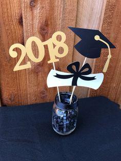 Graduation Centerpiece 2018 Graduation Centerpiece Gold