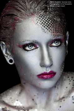 The Academy of Makeup Arts. #stars #silver #shinny