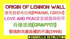 Origin of Lennon Wall