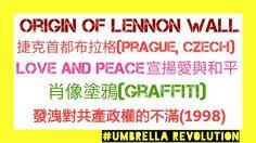 Origin of Lennon Wall