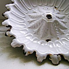 French Enamelware Ceiling Rose