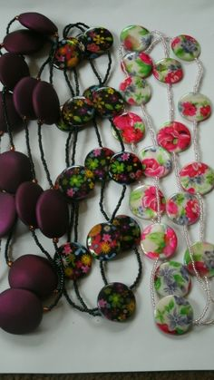 Wholesale, job lot of 3 beaded necklaces. LOT 16 £8.99