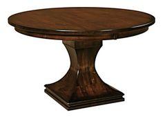 28 best single pedestal amish tables amish touch images amish rh pinterest com