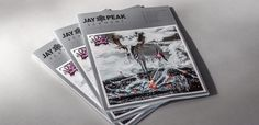 Winter Jay Peak Resort Magazine – How do you build loyalty with existing fans and entice new ones to further engage with your brand? If you're Jay Peak Resort - a four season resort in Northern Vermont - you design a killer magazine. Jay Peak Resort, Brand Magazine, Loyalty, Vermont, Fans, Seasons, Winter, Design, Winter Time