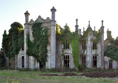 Coolbawn House, Co. Wexford. Built in 1840. In Enniscorthy,County Wexford, Ireland by Simon Marsden
