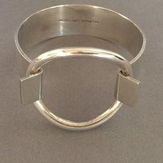 nice Gallery 925 - Hans Hansen Sterling Silver Ring Bracelet by Bent Gabrielsen., Han...