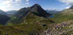 Romsdalseggen - Åndalsnes. Foto: Tarjei Husøy