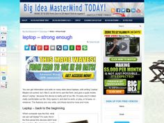 Big Idea MasterMind TODAY! http://www.bigideamastermindtoday.com/leptop-strong-enough/
