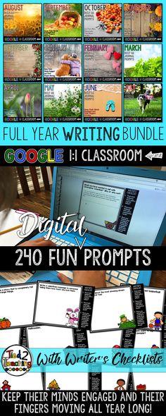 240 engaging writing