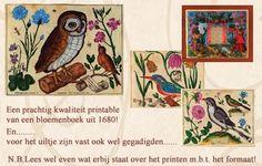 Bloemenboek uit 1680. Printje via de site.