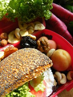 6 Snackbox Ideen | Gesunde Schulbrote