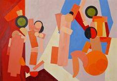 """Saatchi Art Artist Julien Porisse; Painting, """"Les Demoiselles"""" #art"""