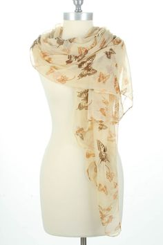 Butterfly Scarf.
