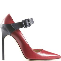 Manolo Blahnik buckled Mary Jane Pumps #Manolos #Shoes #Heels