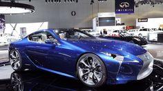 Lexus LF-LC Concept goes blue, remains happy