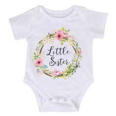 Little Sister Romper - Present Baby