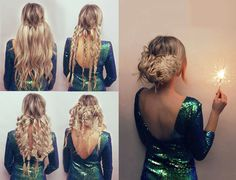 Peinados de fiesta fáciles explicados paso a paso - SoyModa.net How To Curl Your Hair, How To Draw Hair, 360 Lace Wig, Lace Wigs, Mid Length Hair, Luxury Hair, Remy Hair, Purple Hair, Hair Inspo