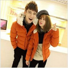 9292 winter lovers plus size clothing thickening cotton-padded jacket outerwear lovers wadded jacket cotton-padded jacket
