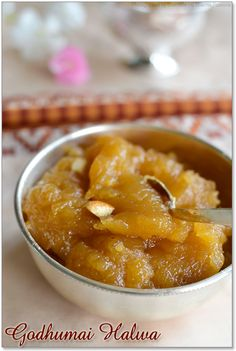 Wheat Halwa Recipe