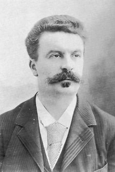 * Guy de Maupassant * (by Félix Nadar) Writers And Poets, Writers Write, Book Writer, Book Authors, Literature Books, Rare Photos, Old Photos, James Joyce, People Of Interest