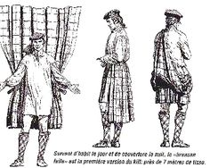 How to put on the philamor or great kilt which appears in 'Outlander'