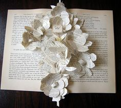 from Modern Country Style blog: Modern Country Craft Inspiration: Book Art