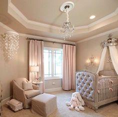 Beautiful room for little baby girl #deco #babygirl