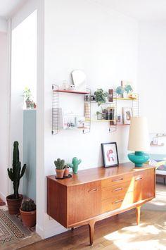 Interieur vintage arty Malles aux tresors // Hëllø Blogzine - www.hello-hello.fr