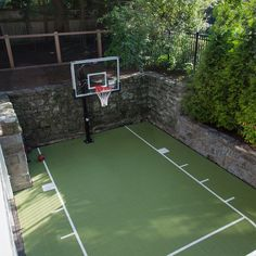 Half basketball court can add on concrete and paint in for How much to make a basketball court