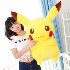 50cm kawaii pokemon pikachu pillow doll kids christmas gift large stuffed pikachu Plush toy,pokemon go toys for Children-in Stuffed & Plush Animals from Toys & Hobbies on Aliexpress.com | Alibaba Group