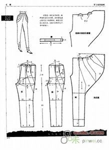 modelist kitapları: PANTS ( method of pattern making) Sewing Pants, Sewing Clothes, Diy Clothes, Barbie Clothes, Pattern Cutting, Pattern Making, Dress Sewing Patterns, Clothing Patterns, Shirt Patterns