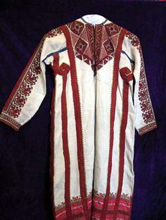 Рубашка женская низовой группы чуваш, 18 век